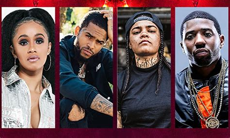 Cardi B, Yfn Lucci, Dave East  Trapmas Party Featuring