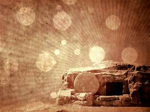 Easter Tomb Background