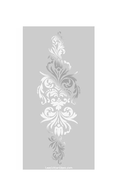 Glass Designs Etching Etched Victorian Sandblasted Panels