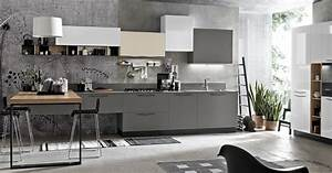 Italian contemporary modern kitchen design Stosa Maya