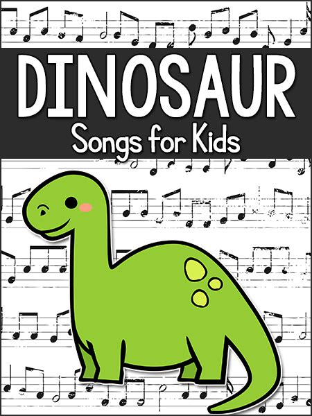 dinosaur songs for in preschool pre k kindergarten 724 | dinosaur songs