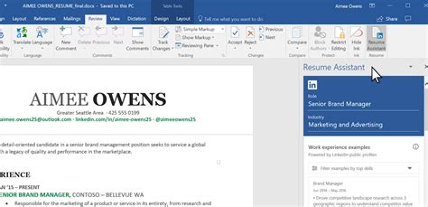 Resume Help Microsoft Word by Windows 10 Tip How To Use Linkedin And Microsoft Word To