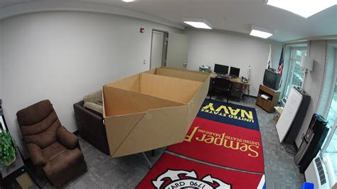 Cardboard Boat Construction by Veterans Services Siu