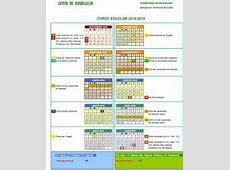 Calendario escolar colegiocervantesalgodonales