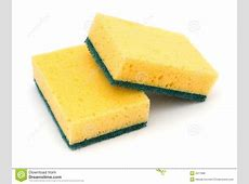 Two Cleaning Sponges Royalty Free Stock Photos Image