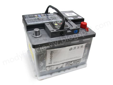 vw polo batterie battery economy version for vw polo 12v 44ah 360a 200a din jzw915105c vag parts base
