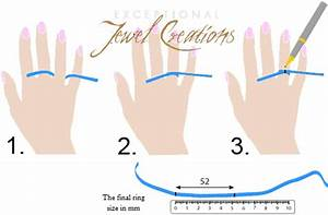 How To Measure Your Ring Size Creations