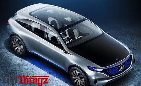Electric Suv Future Mercedesbenz Eq Concept Topthingz