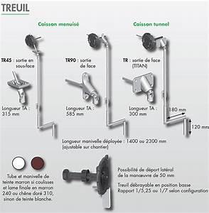 Treuil Volet Roulant : volet roulant bubendorff tradi nelto pvc p 413 treuil ~ Voncanada.com Idées de Décoration