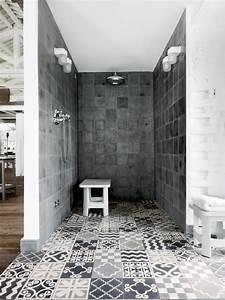 Bad Gestalten Fliesen : bad mit dusche modern gestalten 31 ausgefallene ideen fliesen designs industriell beton ~ Sanjose-hotels-ca.com Haus und Dekorationen