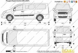 Dimension Peugeot Expert L1h1 : peugeot expert combi lwb vector drawing ~ Medecine-chirurgie-esthetiques.com Avis de Voitures