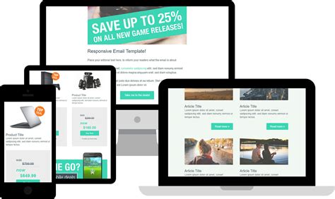 Free Html Email Templates Free Responsive Html Email Templates Html Email Check