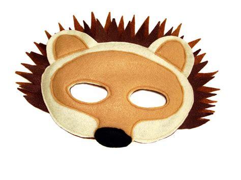 childrens woodland animals felt mask super combo