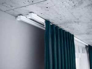 Gardinenschiene 2 Läufig Mit Blende : gardinenschiene 2 l ufig alu vom hersteller ~ Watch28wear.com Haus und Dekorationen