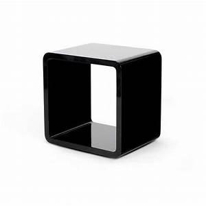 Table Basse Noire Design : table basse design kubi noire ~ Carolinahurricanesstore.com Idées de Décoration