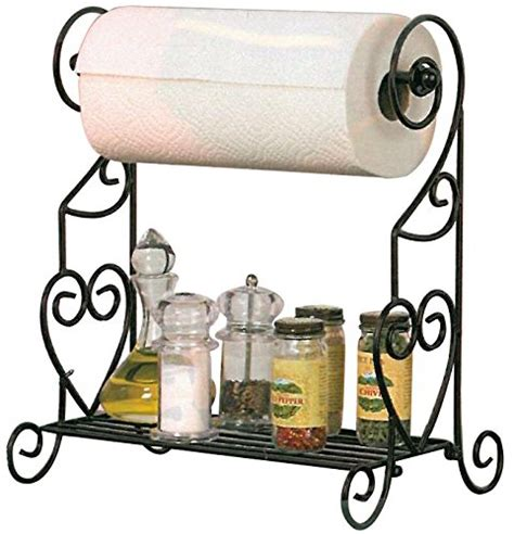 Spice Rack Paper Towel Holder by Spice Paper Towel Holders Rack Kitchen Spice Stand Jars