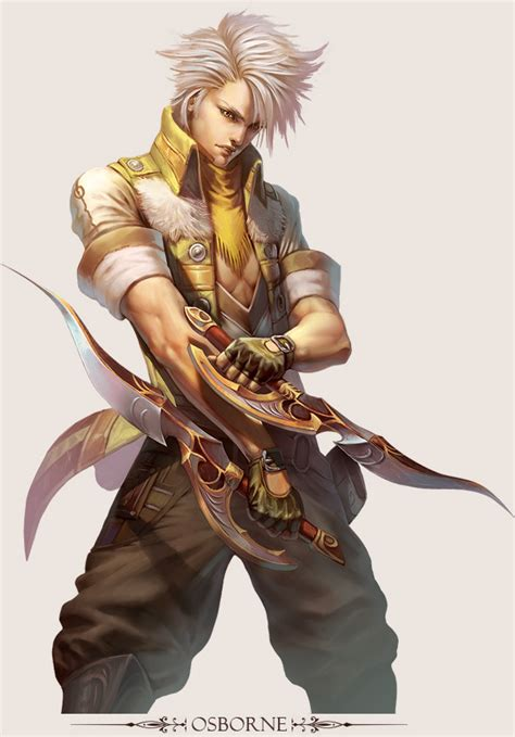 stunning game character designs  fantasy digital art