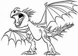Coloring Dragon Train Pages Nadder Dragons Stormfly Drawing Nightmare Monstrous Deadly Toothless Angry Screaming Gronckle Coloriage Nocturne Furie Des Getdrawings sketch template