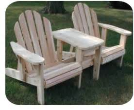 woodwork plans for double adirondack chair with table pdf