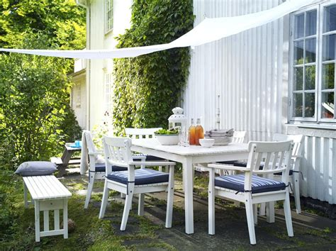 Ikea Outdoor Furniture The Modern Sjalland Table Chairs