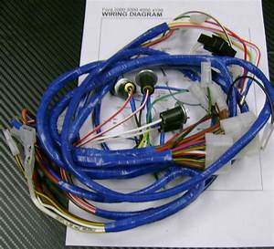 Ford 2000 3000 4000 4100 Tractor Wiring Harness  Loom For Dynamo Type