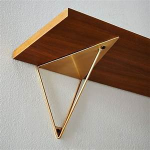 Equerre Etagere Design : equerre d 39 tag re triangle dis sign pinterest ~ Melissatoandfro.com Idées de Décoration