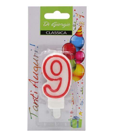 Candela Compleanno by Candela Di Compleanno Numero 9 Drogheria Olimpia Shop