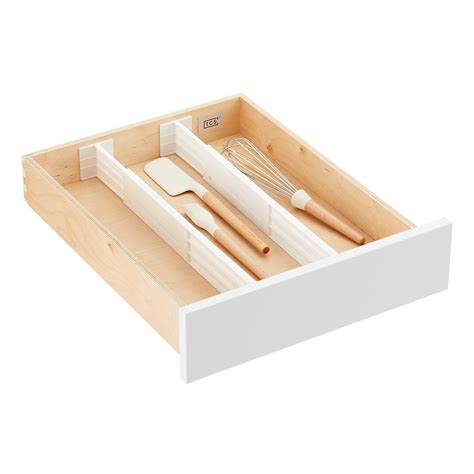 kitchen tray organizer 3 quot drawer organizers the container 3389