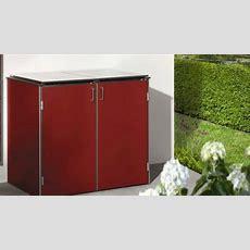 Grimm + Marre  Mülltonnenboxen Aus Metall