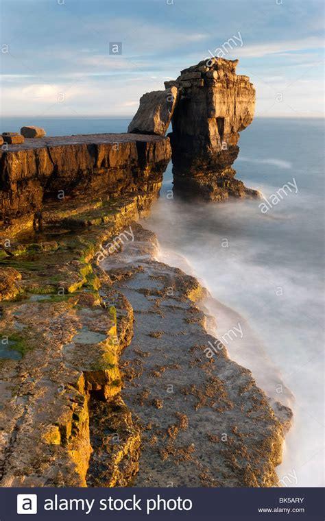 pulpit rock portland bill isle  portland dorset
