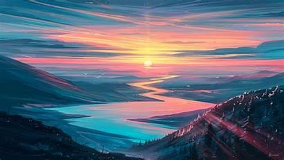 Sunrise Landscape Wallpapers 4k Forest Tags Resolution