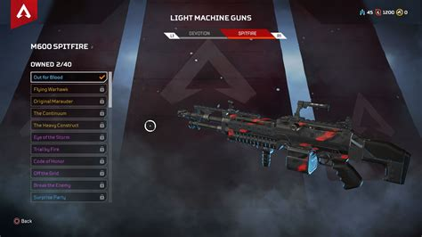 apex legends guns all apex legends weapon damage stats