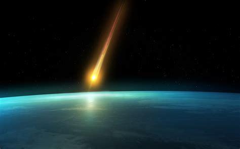 Wallpaper asteroid, space, planet, earth, orbit, comet ...