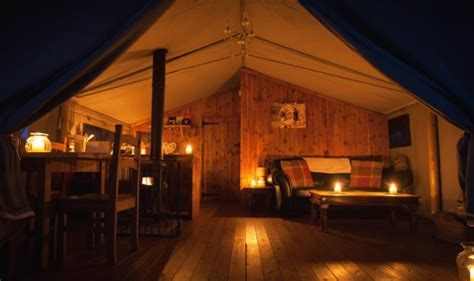 4 Night Luxury Glamping Break with Bubbly £33 each