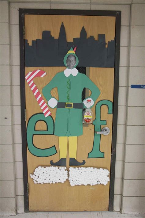 christmas door decorating contest  offices