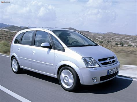 Images Of Opel Meriva A 200306 1600x1200