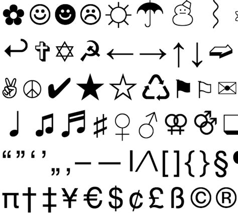 cool letter symbols awesome collection of cool letters and symbols to copy in 20963 | Collection of Solutions Cool Letters And Symbols To Copy For Your Resume Sample