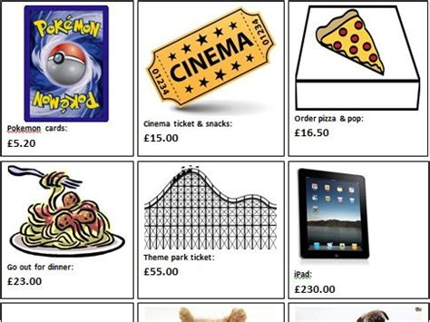 ks2 differentiated budgeting activity by creativeclass13 teaching resources