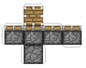 Minecraft Papercraft Creeper Print Out