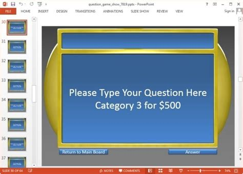 interactive jeopardy powerpoint template animated jeopardy template for powerpoint jpg fppt