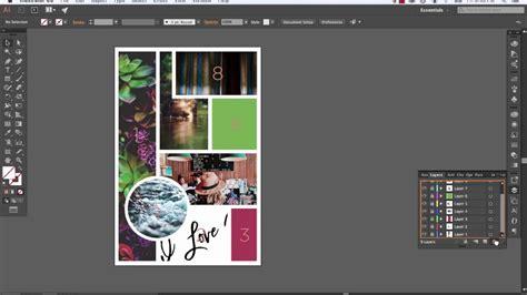 create  mood board  adobe illustrator youtube
