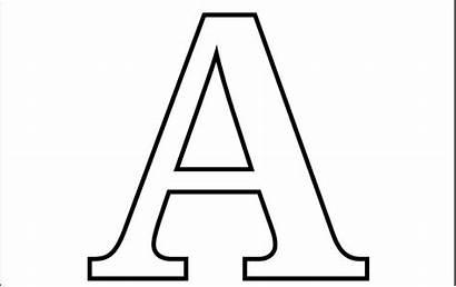 Coloring Letter Letters Alphabet