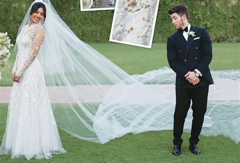 8 Hidden Messages On Priyanka Chopra's White Wedding Gown