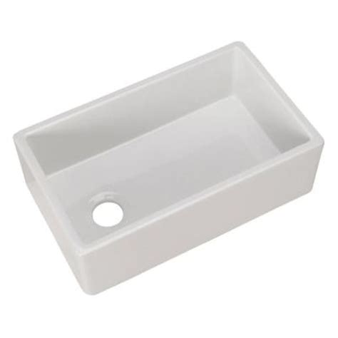 home depot farm sink pegasus farmhouse apron front fireclay 30 in single bowl