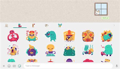 Whatsapp Beta Rolls Out Sticker Packs