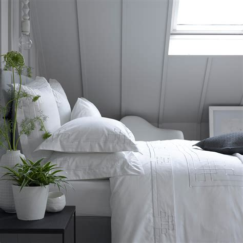 Christy Corinth Bed Linen White Christy