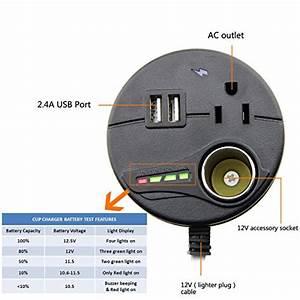 Autogeneral 150w Dxc150 115v Ac Outlet Car Cup Power