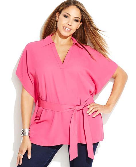 pink blouse pink plus size blouse 39 s lace blouses