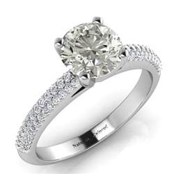 grey engagement rings guide to gray rings naturally colored