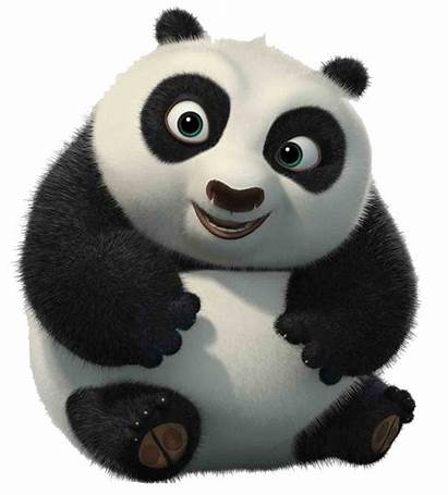 Panda Fu Kung Po Bear Giant Cartoon